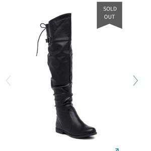 BNWT top moda style galaxy knee high boots
